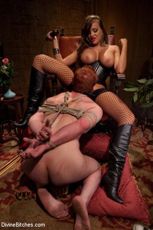 Kinky femdom pics of crazy mistress forc - XXX Dessert - Picture 8