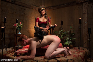 Kinky femdom pics of crazy mistress forc - XXX Dessert - Picture 14