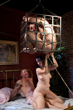 Enslaved cock abused cuckold forced to w - XXX Dessert - Picture 6