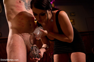 Slutty mistress enjoying three black pec - XXX Dessert - Picture 10