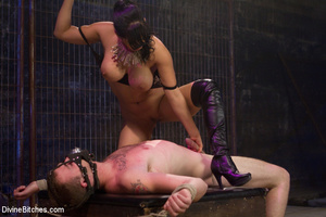 Perverted high heeled mistress dominatin - XXX Dessert - Picture 6