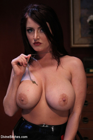 Big boobed mistress in tight lingerie sp - XXX Dessert - Picture 5