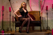 blonde mistress exclusive stockings