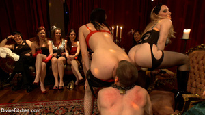 Enslaved naked guy gets his cock and ass - XXX Dessert - Picture 9