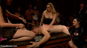 Enslaved naked guy gets his cock and ass - XXX Dessert - Picture 13