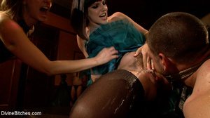Enslaved naked guy gets his cock and ass - XXX Dessert - Picture 15