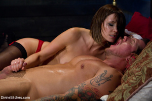 Stunning smily dominatrix in sexy linger - XXX Dessert - Picture 6