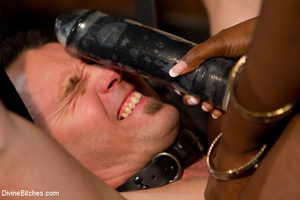 Nuts abused slave guy gets his ass hole  - XXX Dessert - Picture 5