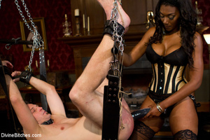 Nuts abused slave guy gets his ass hole  - XXX Dessert - Picture 6