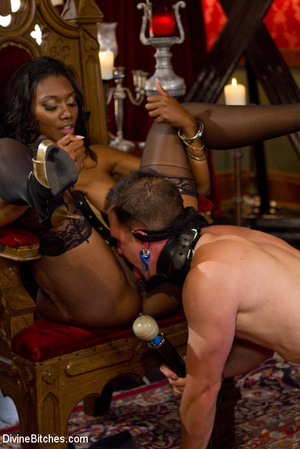 Nuts abused slave guy gets his ass hole  - XXX Dessert - Picture 12