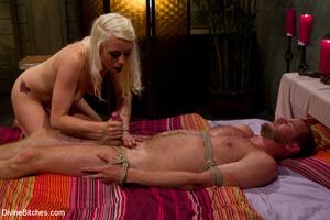 Blonde cruel mistress bound her naked sl - XXX Dessert - Picture 13