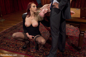 Young enslaved guy gets his pecker and a - XXX Dessert - Picture 4