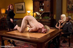 Young enslaved guy gets his pecker and a - XXX Dessert - Picture 11