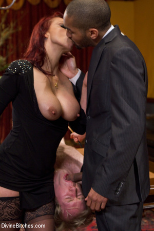 Young enslaved guy gets his pecker and a - XXX Dessert - Picture 15