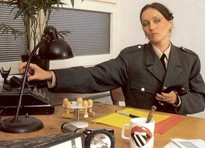 Seventies cop inspecting a victim her dr - XXX Dessert - Picture 1
