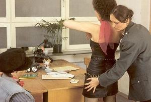 Seventies cop inspecting a victim her dr - XXX Dessert - Picture 3
