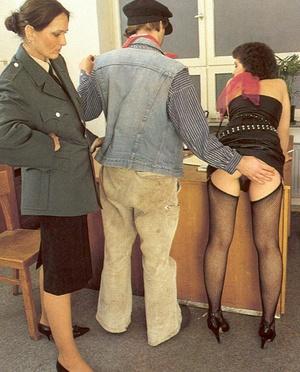 Seventies cop inspecting a victim her dr - XXX Dessert - Picture 4