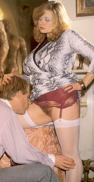 Seventies lady with insane tits receives - XXX Dessert - Picture 1