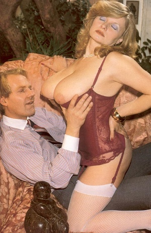 Seventies lady with insane tits receives - XXX Dessert - Picture 2