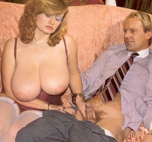 Seventies lady with insane tits receives - XXX Dessert - Picture 3
