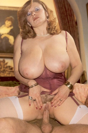 Seventies lady with insane tits receives - XXX Dessert - Picture 7