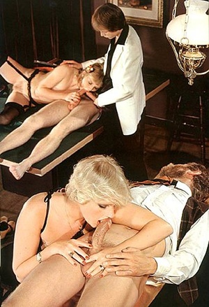 Two seventies couples doing it all toget - XXX Dessert - Picture 8