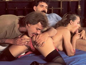 Hairy seventies lady loves to big cocks  - XXX Dessert - Picture 3