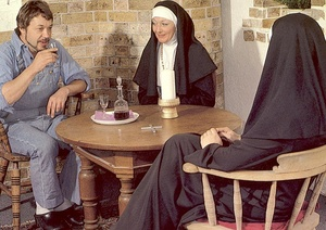 Two hairy seventies nuns stuffed in all  - XXX Dessert - Picture 4