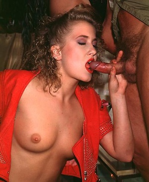 Two naughty eighties girls enjoying his  - XXX Dessert - Picture 3