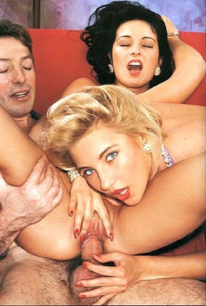 Two horny eighties couples having hot di - XXX Dessert - Picture 2
