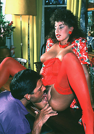 Sexy shaved seventies lady gets some rou - XXX Dessert - Picture 9