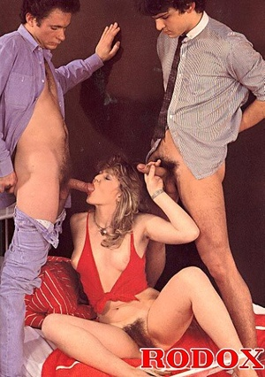 Hairy eighties lady stuffed twice in her - XXX Dessert - Picture 6