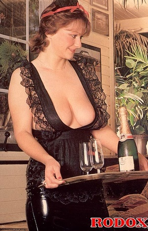 Big titted seventies lady receives two b - XXX Dessert - Picture 2