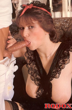 Big titted seventies lady receives two b - XXX Dessert - Picture 7