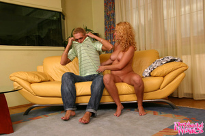 Smooth playa gets a blowjob from a hot b - XXX Dessert - Picture 4