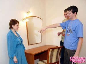 Horny pregnant woman gives guy deepthroa - XXX Dessert - Picture 7
