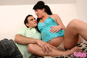 Pregnant wife picks up a hot sporty guy  - XXX Dessert - Picture 1