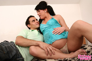 Horny chick with one in the oven seducin - XXX Dessert - Picture 2