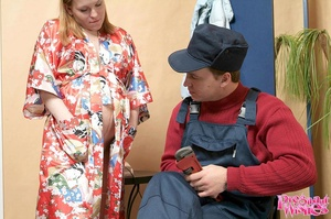 Pregnant housewife cheating on her husba - XXX Dessert - Picture 2