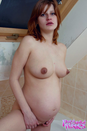 Pregnant beauty fucks her pussy and assh - XXX Dessert - Picture 10