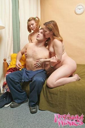 Slutty preggo and her lesbian girlfriend - XXX Dessert - Picture 9