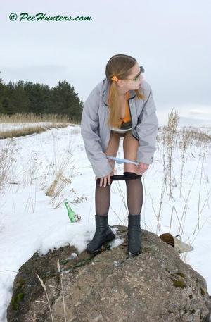 Spying on peeing teen - XXXonXXX - Pic 12