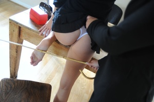 Strict Deputy Head Elise forced Amy Gree - XXX Dessert - Picture 7