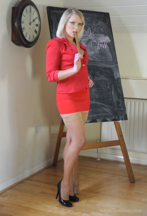 Naught history teacher Miss Abigail in a - XXX Dessert - Picture 1
