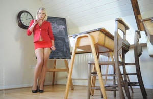 Naught history teacher Miss Abigail in a - XXX Dessert - Picture 2