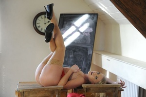 Naught history teacher Miss Abigail in a - XXX Dessert - Picture 12