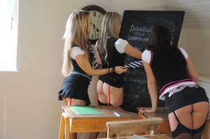 Three naughty college girls Candice Coll - XXX Dessert - Picture 4