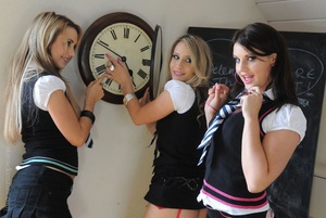 Three naughty college girls Candice Coll - XXX Dessert - Picture 5