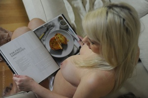 Stunning busty blonde Miss Holli taking  - XXX Dessert - Picture 6