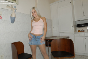 Awesome blonde Kristine met the stranger - XXX Dessert - Picture 1
